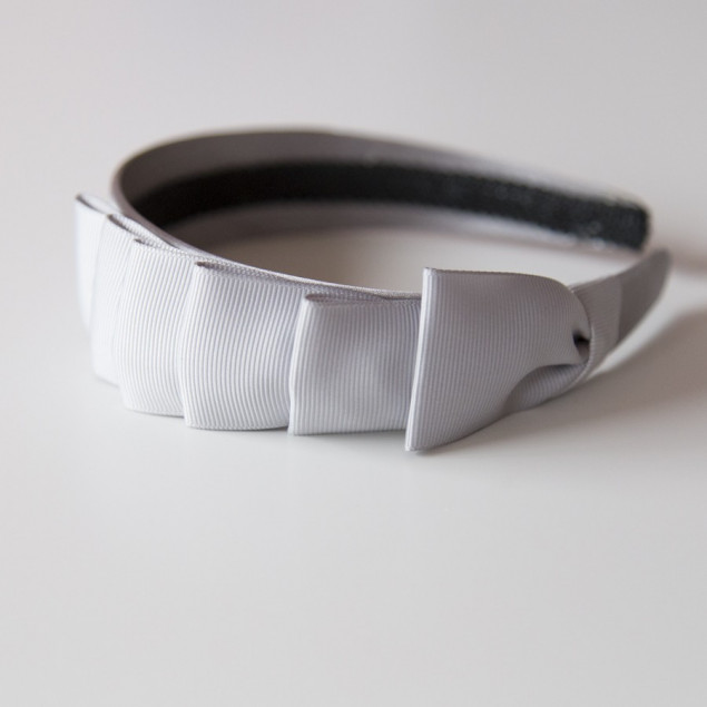 Diadema lazada gris