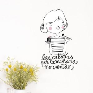 Vinilo Calorías