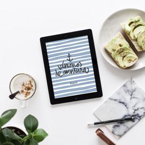 Wallpaper aventura tablet