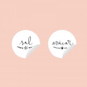 Stickers sal y azúcar