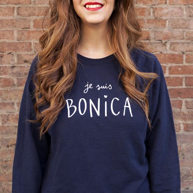 Sudadera Je suis Bonica