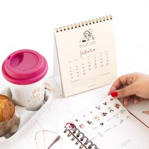 Calendario 2018 de mesa