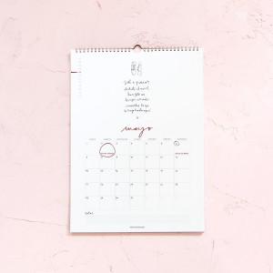 Pack Agenda Grande y Calendario de Pared