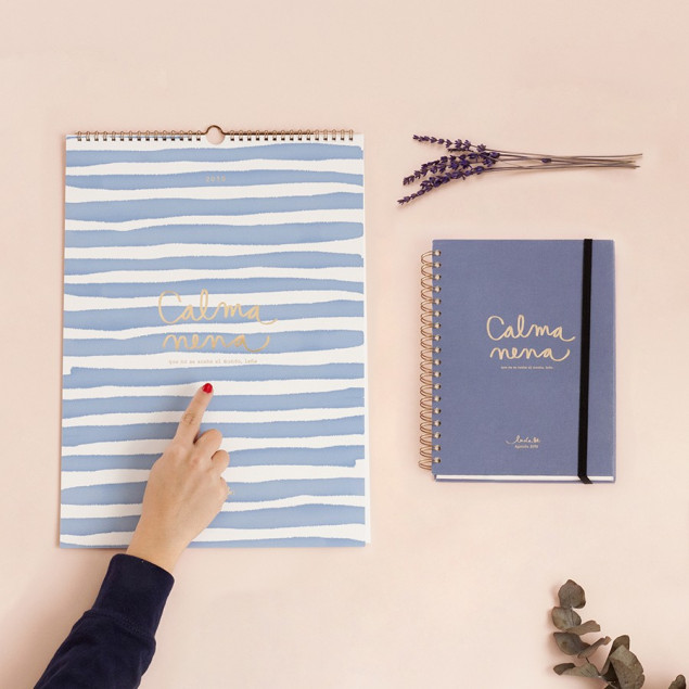 Pack Agenda Grande y Calendario de Pared
