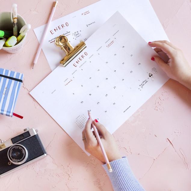 Planificador trimestral ENERO - ABRIL 2018