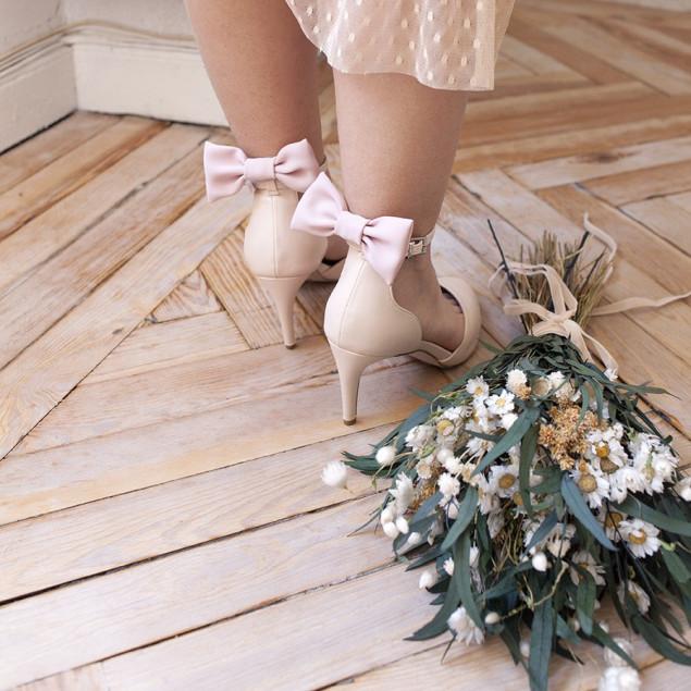 Lazo Zapatos Rosa