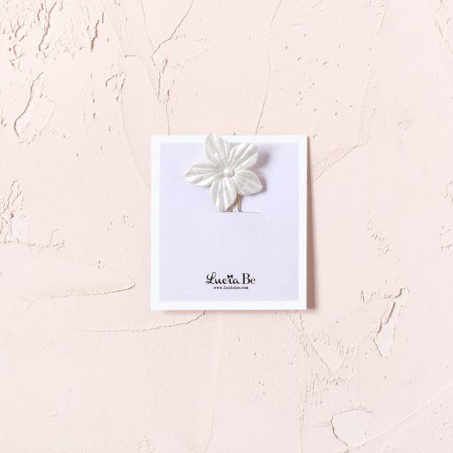 Horquillas flor de Nácar