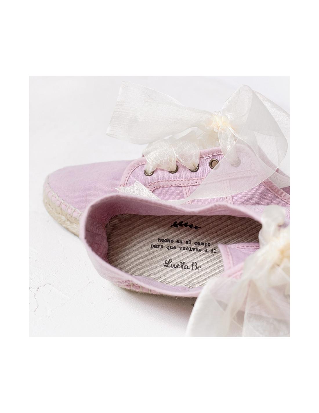 zapatillas novia Lucía Be