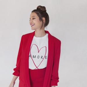 Camiseta Amore