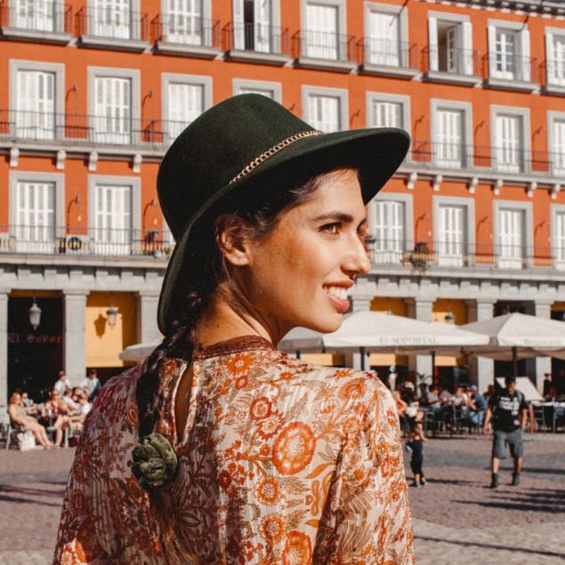Sombrero Blake con Cadena
