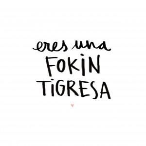 Lámina fokin tigresa