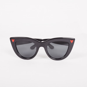 CAT EYE HEARTS SUNGLASSES