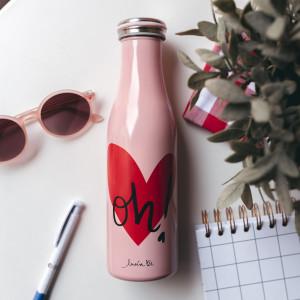 Botella Térmica Rosé